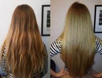 желатиновая маска для волос фото до и после