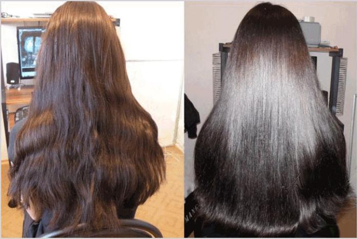 Желатиновая маска для волос отзывы фото до и после