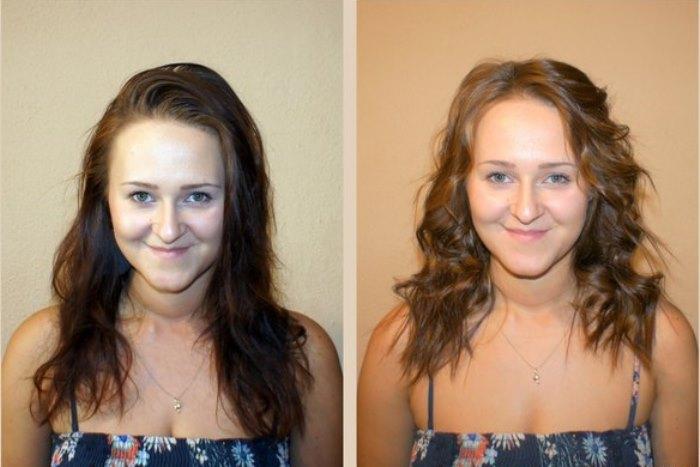 калифорнийское мелирование фото до и после