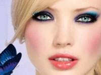 Пошаговая инструкция создания вечернего макияжа для голубых глаз с фото