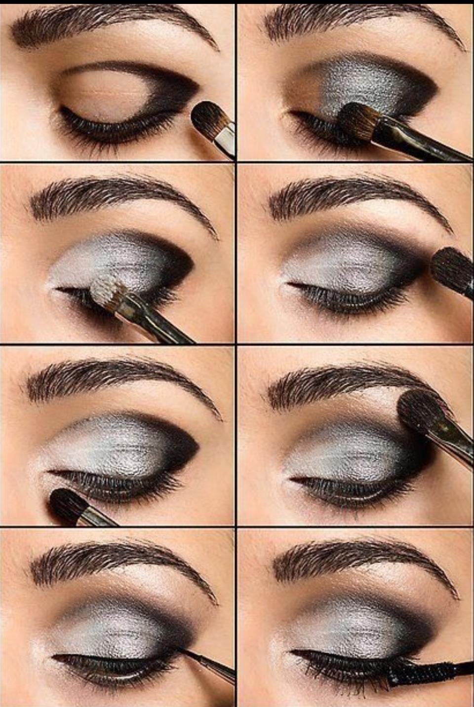 Дневной макияж для зеленых глаз с пошаговым 8