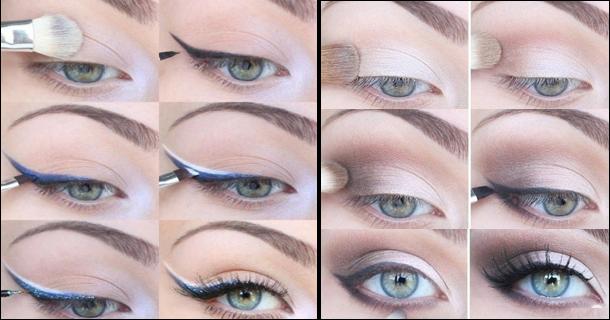 пошаговая инструкция дневного макияжа видео - фото 9