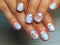 Идеи дизайна на короткие ногти гель лаком с пошаговым описанием