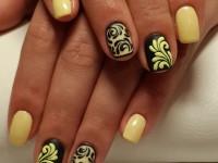 Простые рисунки шеллаком на ногтях. Пошаговая инструкция и фото