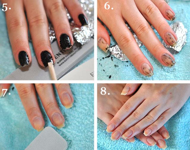 Как сделать на ногтях шеллаком 228