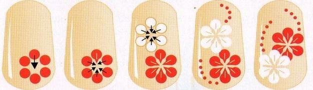 Схемы рисунков точками