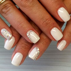 Дизайн ногтей шеллаком фото на короткие ногти