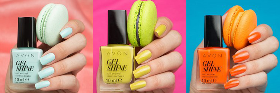 avon shine Mint To Be, Citronized и Orange You Crazy