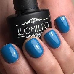 комильфо синий