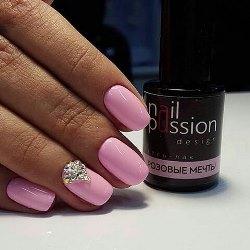 nail passion розовые мечты
